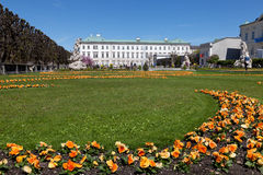 Mirabell Palace and garden, Salzburg, Stock Images