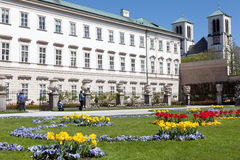 Mirabell Palace and garden, Salzburg Royalty Free Stock Images
