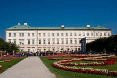 The Mirabell Palace and Garden in Salzburg, Austria. Royalty Free Stock Photos