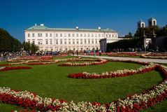 The Mirabell Palace and Garden in Salzburg, Austria Royalty Free Stock Image