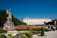 The Mirabell Palace and Garden in Salzburg, Austria Royalty Free Stock Photography