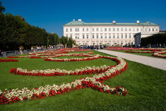 The Mirabell Palace and Garden in Salzburg, Austria. Royalty Free Stock Images