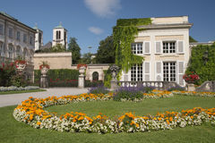 Mirabell palace and gardens Royalty Free Stock Image
