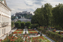 Mirabell palace and gardens (Salzburg, Austria) Royalty Free Stock Photo