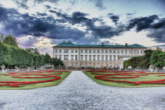 Mirabell Palace and Gardens Salzburg Stock Photography