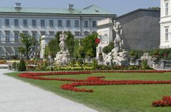 Mirabell Palace Royalty Free Stock Photos