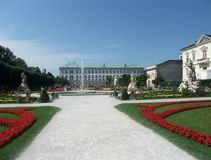 Mirabell Palace Stock Photography
