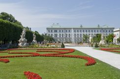 Mirabell Palace Royalty Free Stock Photography