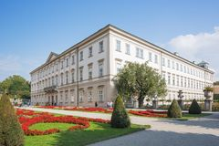 Mirabell Palace and its garden Royalty Free Stock Photography