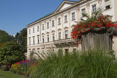 Mirabell palace in the summer (Salzburg, Austria ) Royalty Free Stock Photography