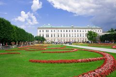 mirabell salzburg сада Стоковые Фото