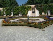 Mirabell slott arkivfoto