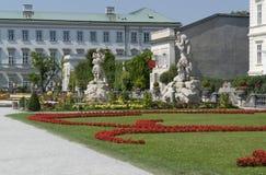 Mirabell slott royaltyfria foton