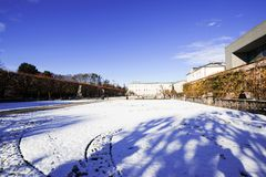 Mirabelle Garden i österrikare Arkivfoton