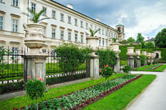Mirabelle palace and gardens Stock Photography