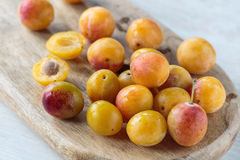 Mirabelle plums Royalty Free Stock Image