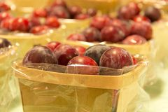 Mirabelle Plums Royalty Free Stock Photos