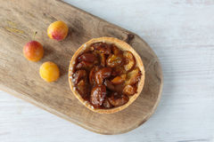 Mirabelle plums pie Royalty Free Stock Images