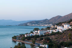 Mirabello Bay on Crete Royalty Free Stock Photo