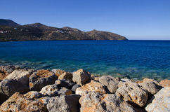 Mirabello Bay Stock Image