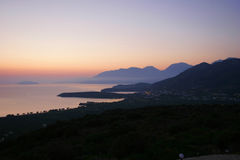Mirabello Bay, Northern Crete Stock Image
