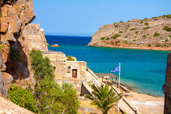 Mirabello bay. Mirabello bay, view from Spinalonga - the last leprosorium Royalty Free Stock Image