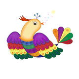 Miracle Bird Royalty Free Stock Photo