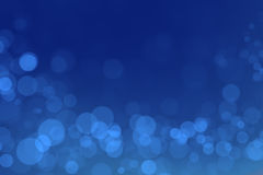 Miracle bokeh with blue gradient background. Abstract miracle bokeh with blue gradient background royalty free stock photo
