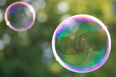 Miracle Bubble Royalty Free Stock Photo