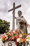 Miracle de cimetière de deux points Images stock