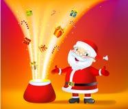 miracle de Noël de sac illustration stock