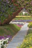 Miracle garden in dubai Stock Photo