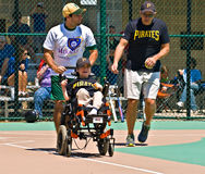 Miracle League Softball Stock Image