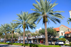 Miracle Mile in Coral Gables, Miami Stock Image