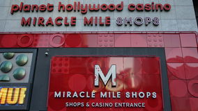 Miracle Mile Shops in Las Vegas, Nevada Stock Photos