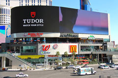 Miracle Mile Shops at Planet Hollywood Resort and Casino. Stock Images