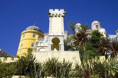 The Pena Palace Portugal Royalty Free Stock Photos