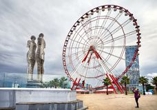 Miracle Park in Batumi Royalty Free Stock Photos