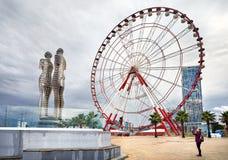 Miracle Park in Batumi Royalty Free Stock Photos