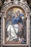 Miracle of Saint Dominic Royalty Free Stock Images