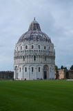 Miracle square with basilica and pisa tower Stock Images