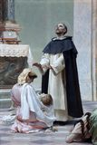 Miracle of st. Dominic. Dominican church Dubrovnik stock photo
