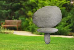 Miracle. Stone Balance Japanese Culture Eternity Art Zen-like Royalty Free Stock Photos