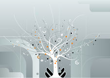 Miracle tree vector Stock Photo