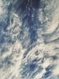 Miracle Sky View. Miracle Winter Sky View. Amazing Sky Texture. Magic Picturesque Cloudy Background royalty free stock image