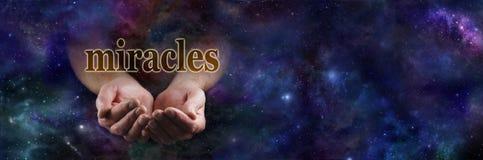 Miracles pour vous Photographie stock libre de droits