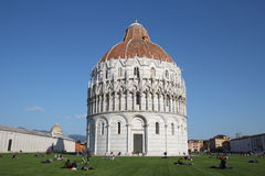 Miracles Square in Pisa, Italy Stock Photography