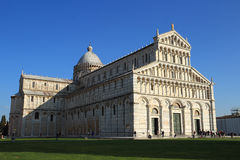 Miracles square in Pisa Royalty Free Stock Photography