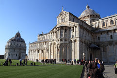 Miracles square in Pisa Stock Photos