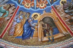 Miracoli attribuiti a Gesù fotografia stock